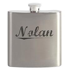 Nolan, Vintage Flask