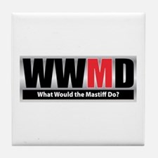 WW the Mastiff D Tile Coaster