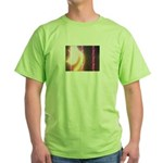 Photo Soundwaves Green T-Shirt