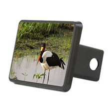 saddle billed stork kenya  Hitch Cover