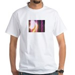 Photo Soundwaves White T-Shirt