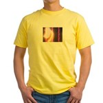 Photo Soundwaves Yellow T-Shirt