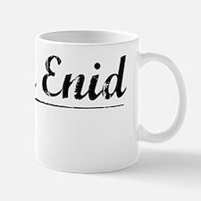 North Enid, Vintage Mug