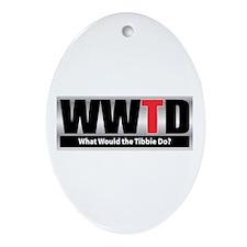 WW the Tibbie D Oval Ornament