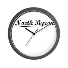 North Byron, Vintage Wall Clock