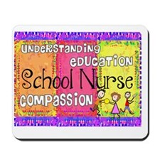School Nurse giger Mousepad