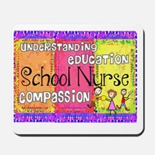 School Nurse giger Mousepad