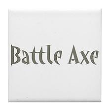 Battle Axe Tile Coaster