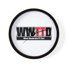 WW the TT D Wall Clock