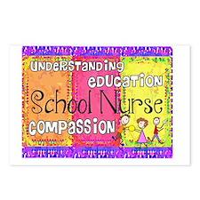 School Nurse giger Postcards (Package of 8)