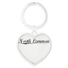 North Lemmon, Vintage Heart Keychain