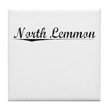 North Lemmon, Vintage Tile Coaster