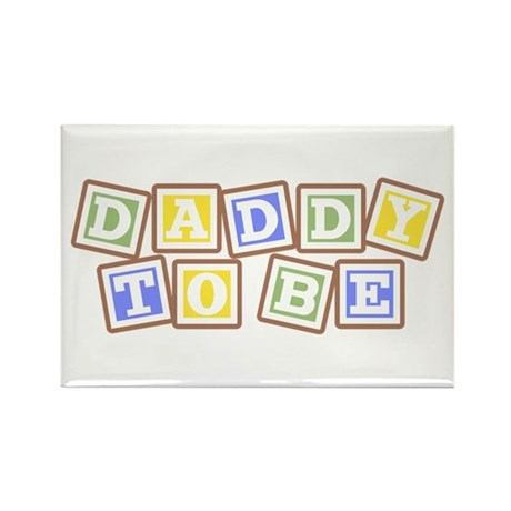 Daddy To Be Rectangle Magnet (100 pack)