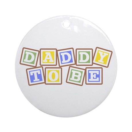 Daddy To Be Ornament (Round)