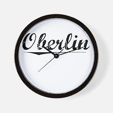Oberlin, Vintage Wall Clock