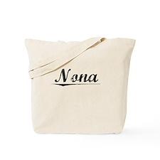 Nona, Vintage Tote Bag