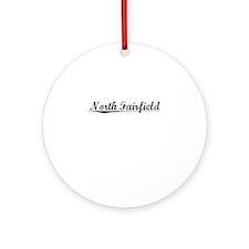 North Fairfield, Vintage Round Ornament