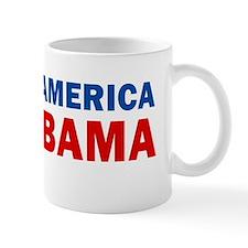 Restore America Fire Obama Mug