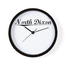 North Dixon, Vintage Wall Clock