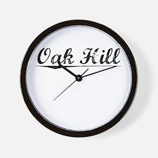 Oak Hill, Vintage Wall Clock