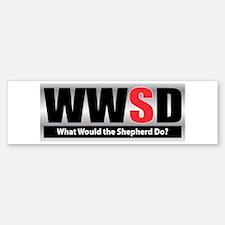 WW the Shepherd D Bumper Bumper Bumper Sticker