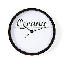 Oceana, Vintage Wall Clock