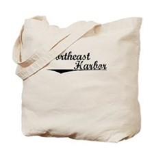 Northeast Harbor, Vintage Tote Bag