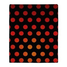 Fire Dots Throw Blanket