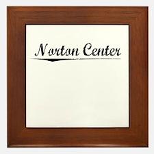 Norton Center, Vintage Framed Tile