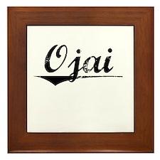 Ojai, Vintage Framed Tile