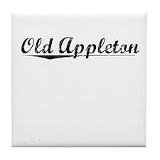 Old Appleton, Vintage Tile Coaster