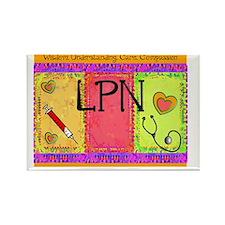 LPN Giger Rectangle Magnet