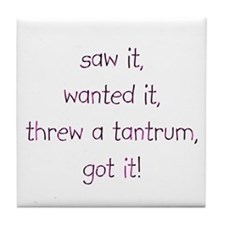 Tantrum Tile Coaster