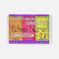 School Nurse giger Rectangle Magnet