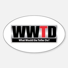 WW the Toller D Oval Decal