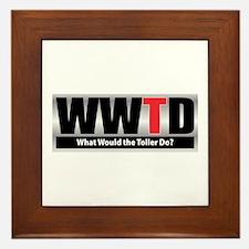 WW the Toller D Framed Tile