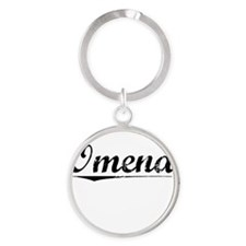Omena, Vintage Round Keychain