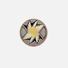 MIMBRES STARBURST BOWL DESIGN Mini Button