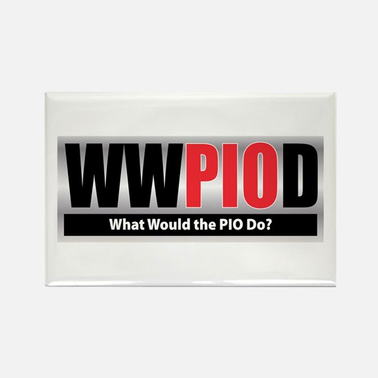 WW the PIO D Rectangle Magnet (100 pack)