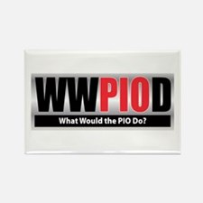 WW the PIO D Rectangle Magnet (10 pack)