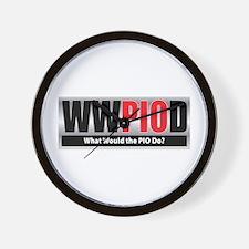 WW the PIO D Wall Clock