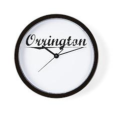 Orrington, Vintage Wall Clock