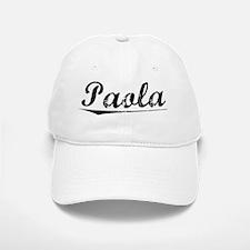 Paola, Vintage Baseball Baseball Cap