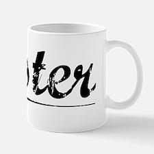 Oyster, Vintage Mug