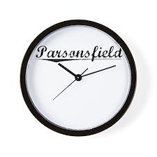 Parsonsfield, Vintage Wall Clock