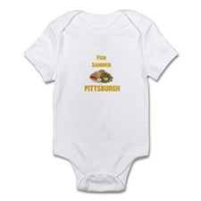 Fish sammich Infant Bodysuit