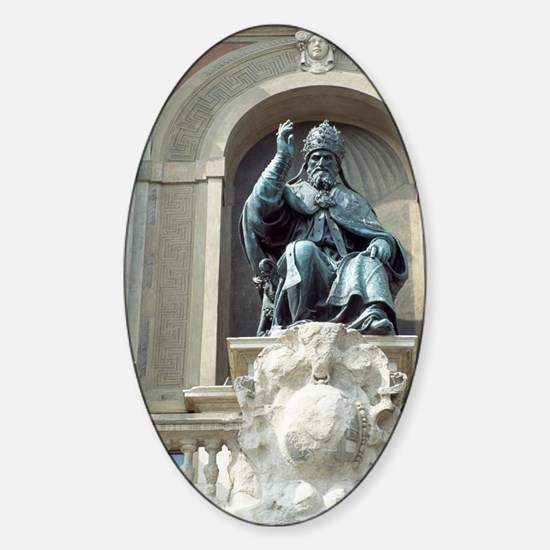 Pope Gregory XIII, Italian pope Sticker (Oval)