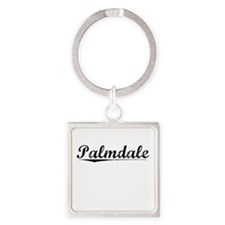 Palmdale, Vintage Square Keychain