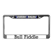Bull Fiddle License Plate Frame