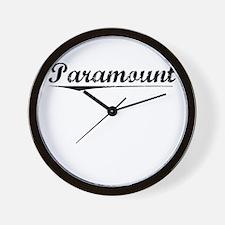 Paramount, Vintage Wall Clock